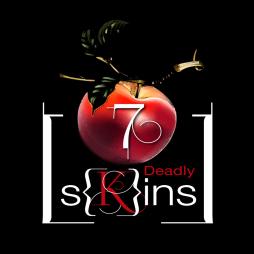 7 Deadly [S]kins SkinLogoZwart