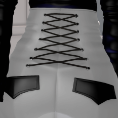 Crazy Shop - Melis Corset Pants Top Back of pants