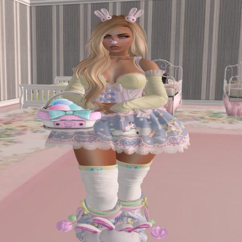!!! Full Bunni Princess All dressed up