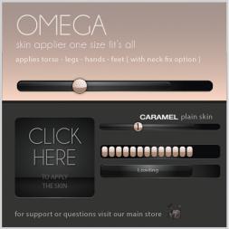 OMEGA-basic-1-button-caramel