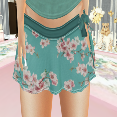OUTFIT BY LX_Alice top and Charlotte Skirt Bottom